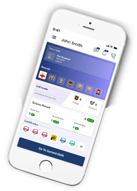 StaffWizard Payroll Mobile App Example